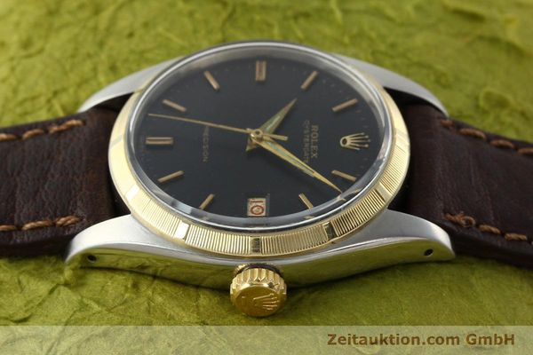 Used luxury watch Rolex Precision steel / gold manual winding Kal. 1215 Ref. 6494 VINTAGE  | 142379 05