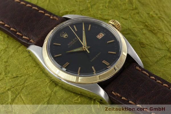 Used luxury watch Rolex Precision steel / gold manual winding Kal. 1215 Ref. 6494 VINTAGE  | 142379 13