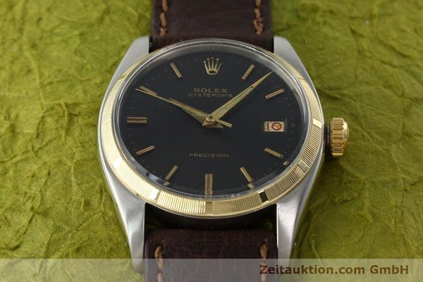 Used luxury watch Rolex Precision steel / gold manual winding Kal. 1215 Ref. 6494 VINTAGE  | 142379 14