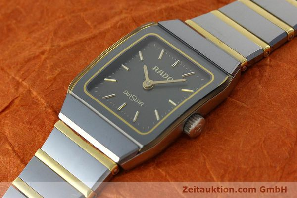 Used luxury watch Rado Diastar ceramic / steel quartz Kal. ETA 901.001  | 142383 01