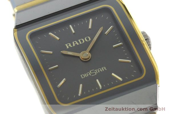 Used luxury watch Rado Diastar ceramic / steel quartz Kal. ETA 901.001  | 142383 02