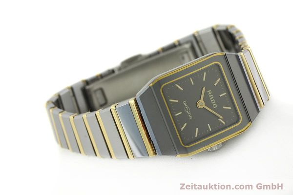 Used luxury watch Rado Diastar ceramic / steel quartz Kal. ETA 901.001  | 142383 03
