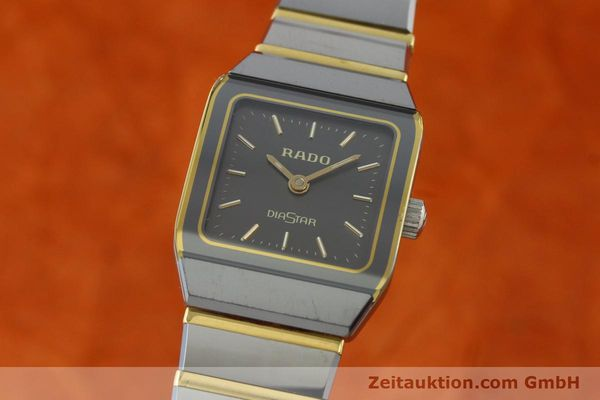Used luxury watch Rado Diastar ceramic / steel quartz Kal. ETA 901.001  | 142383 04
