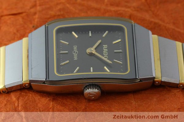 Used luxury watch Rado Diastar ceramic / steel quartz Kal. ETA 901.001  | 142383 05