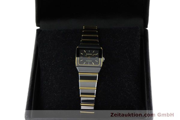 Used luxury watch Rado Diastar ceramic / steel quartz Kal. ETA 901.001  | 142383 07