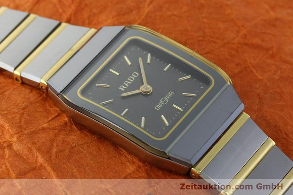 Used luxury watch Rado Diastar ceramic / steel quartz Kal. ETA 901.001  | 142383 12
