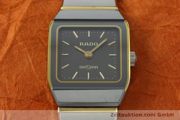 Used luxury watch Rado Diastar ceramic / steel quartz Kal. ETA 901.001  | 142383 13
