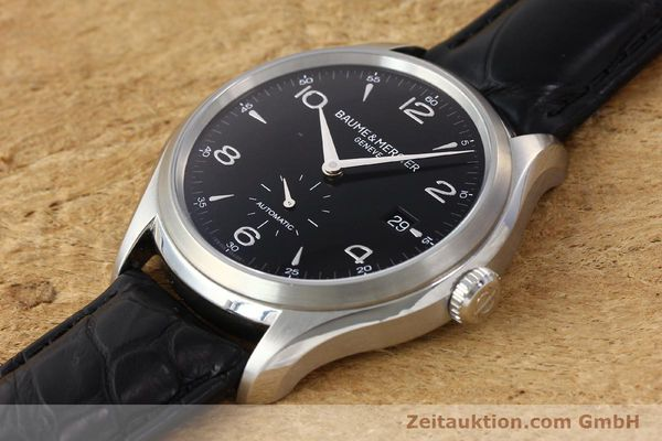 Used luxury watch Baume & Mercier Clifton steel automatic Kal. BM11260 Sellita 280-1 Ref. 65717  | 142387 01