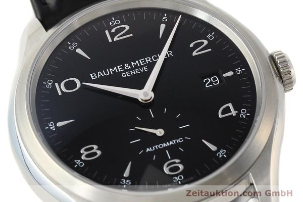 Used luxury watch Baume & Mercier Clifton steel automatic Kal. BM11260 Sellita 280-1 Ref. 65717  | 142387 02