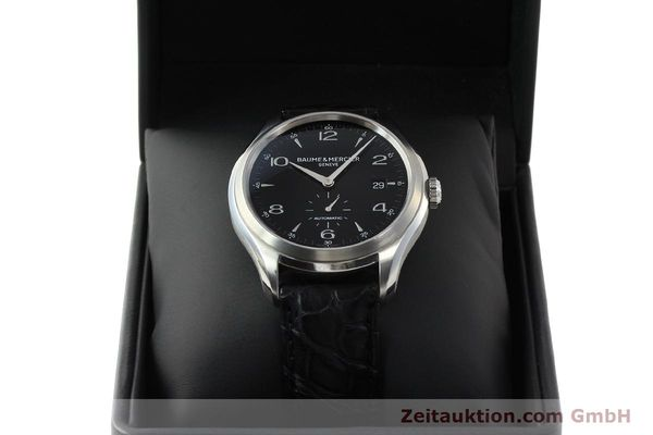 Used luxury watch Baume & Mercier Clifton steel automatic Kal. BM11260 Sellita 280-1 Ref. 65717  | 142387 07