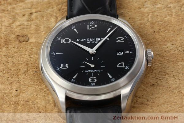 Used luxury watch Baume & Mercier Clifton steel automatic Kal. BM11260 Sellita 280-1 Ref. 65717  | 142387 15