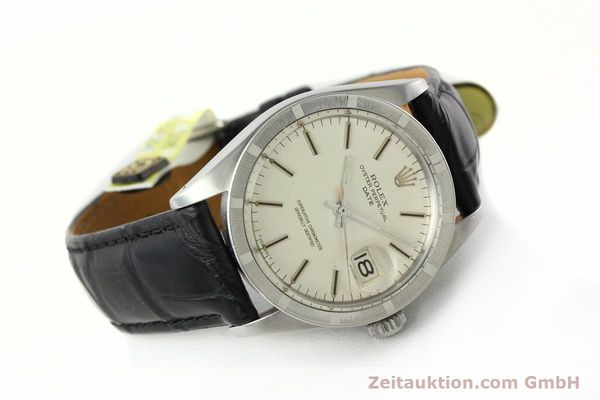 Used luxury watch Rolex Date steel automatic Kal. 1570 Ref. 1501  | 142388 03