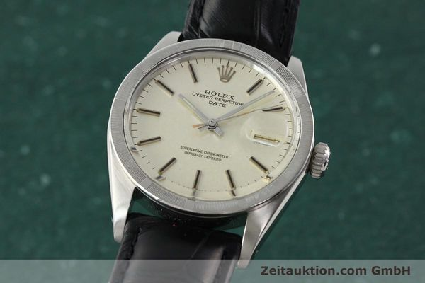 Used luxury watch Rolex Date steel automatic Kal. 1570 Ref. 1501  | 142388 04