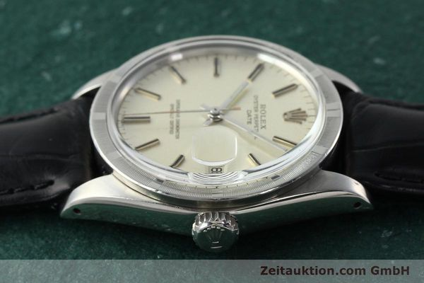 Used luxury watch Rolex Date steel automatic Kal. 1570 Ref. 1501  | 142388 05