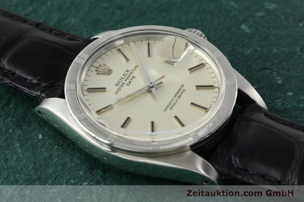 Used luxury watch Rolex Date steel automatic Kal. 1570 Ref. 1501  | 142388 13
