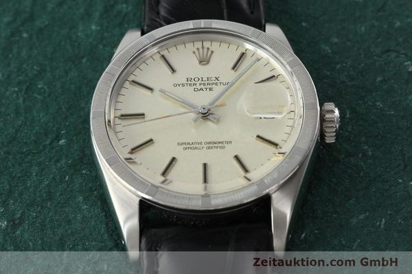 Used luxury watch Rolex Date steel automatic Kal. 1570 Ref. 1501  | 142388 14