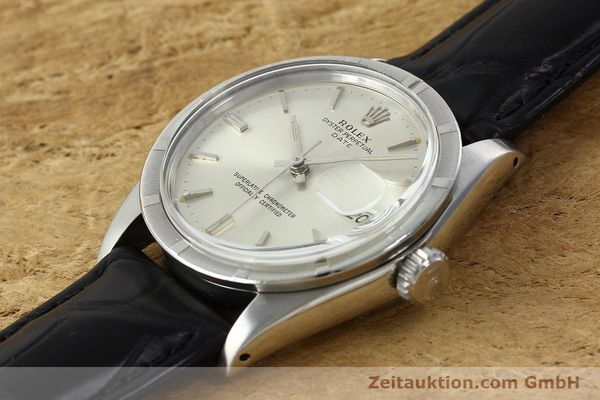 Used luxury watch Rolex Date steel automatic Kal. 1570 Ref. 1501  | 142389 01