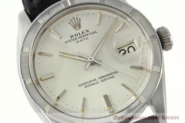 Used luxury watch Rolex Date steel automatic Kal. 1570 Ref. 1501  | 142389 02