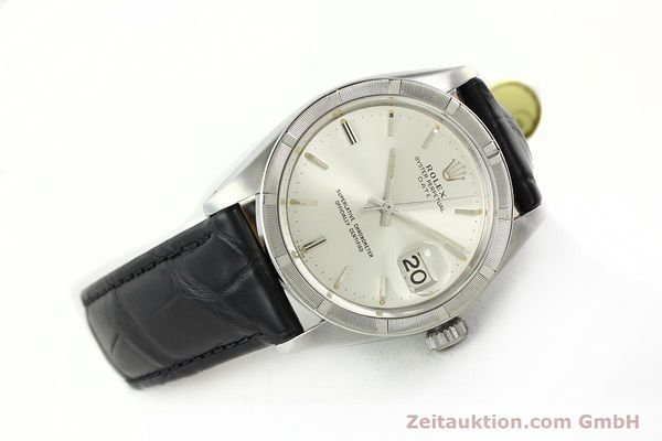 Used luxury watch Rolex Date steel automatic Kal. 1570 Ref. 1501  | 142389 03