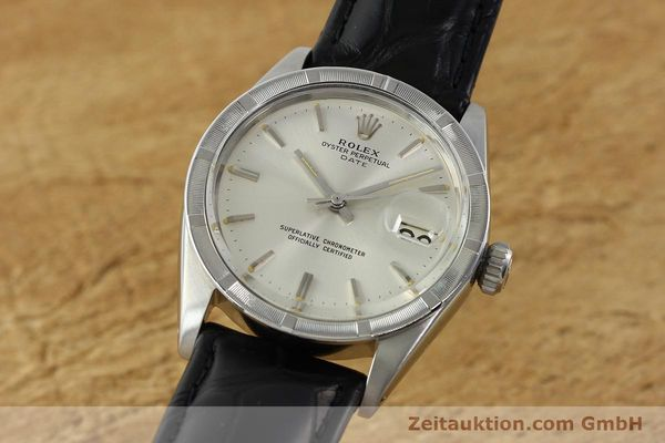 Used luxury watch Rolex Date steel automatic Kal. 1570 Ref. 1501  | 142389 04