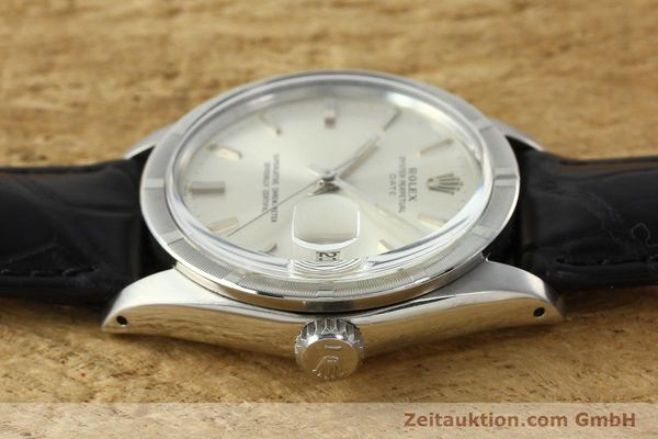 Used luxury watch Rolex Date steel automatic Kal. 1570 Ref. 1501  | 142389 05