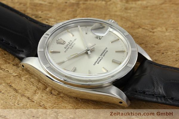 Used luxury watch Rolex Date steel automatic Kal. 1570 Ref. 1501  | 142389 13
