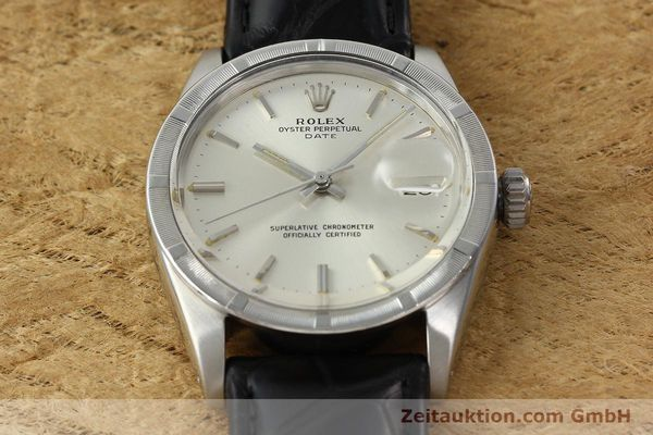 Used luxury watch Rolex Date steel automatic Kal. 1570 Ref. 1501  | 142389 14