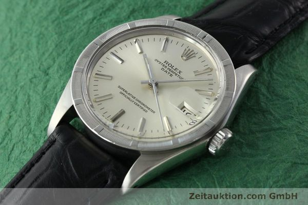 Used luxury watch Rolex Date steel automatic Kal. 1570 Ref. 1501  | 142391 01