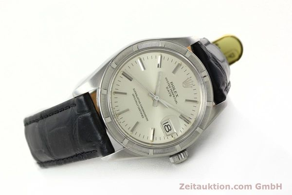 Used luxury watch Rolex Date steel automatic Kal. 1570 Ref. 1501  | 142391 03