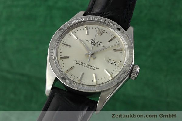 Used luxury watch Rolex Date steel automatic Kal. 1570 Ref. 1501  | 142391 04