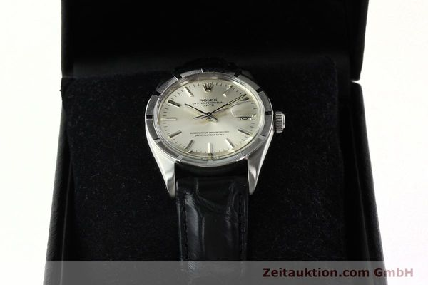 Used luxury watch Rolex Date steel automatic Kal. 1570 Ref. 1501  | 142391 07