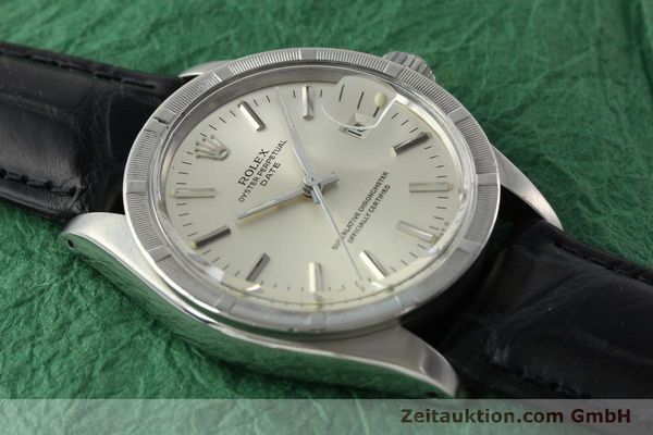 Used luxury watch Rolex Date steel automatic Kal. 1570 Ref. 1501  | 142391 13