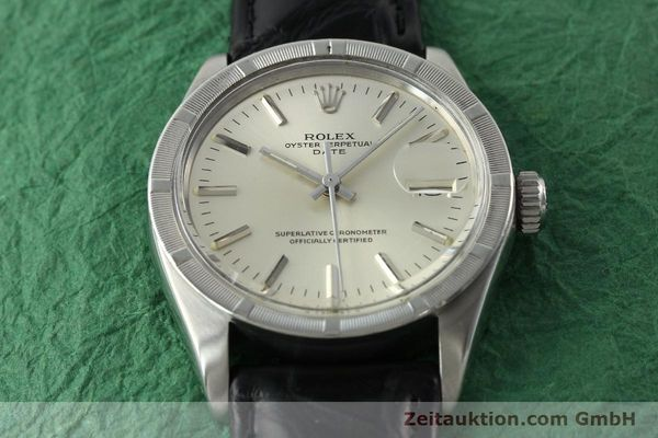 Used luxury watch Rolex Date steel automatic Kal. 1570 Ref. 1501  | 142391 14