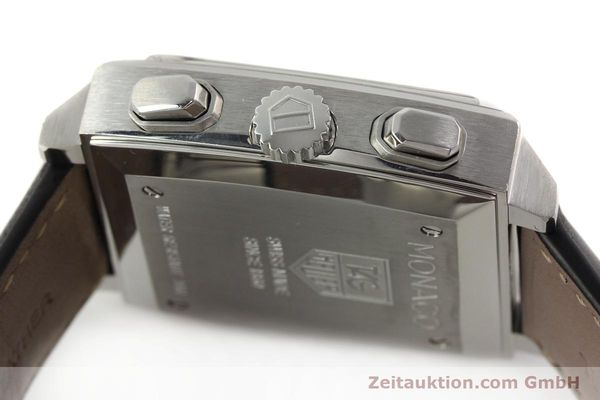 Used luxury watch Tag Heuer Monaco chronograph steel automatic Kal. ETA 2894-2 Ref. CW2111-0  | 142394 11