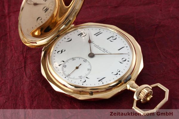 Used luxury watch IWC Taschenuhr 14 ct yellow gold manual winding  | 142395 04