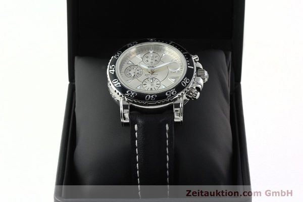 Used luxury watch Montblanc Sport Chronograph chronograph steel automatic Kal. 4810501 ETA 7750 Ref. 7034  | 142398 07