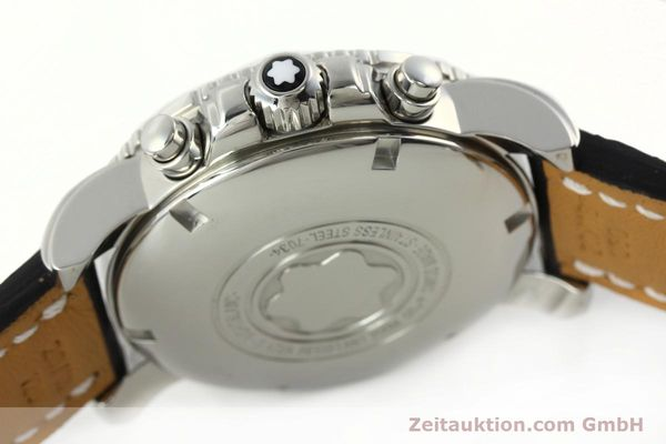Used luxury watch Montblanc Sport Chronograph chronograph steel automatic Kal. 4810501 ETA 7750 Ref. 7034  | 142398 08