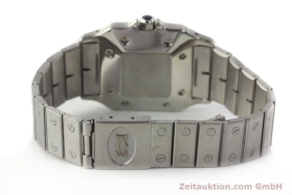 Used luxury watch Cartier Santos steel automatic Kal. ETA 2671  | 142401 10