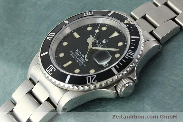 Used luxury watch Rolex Submariner steel automatic Kal. 3135 Ref. 16610  | 142405 01