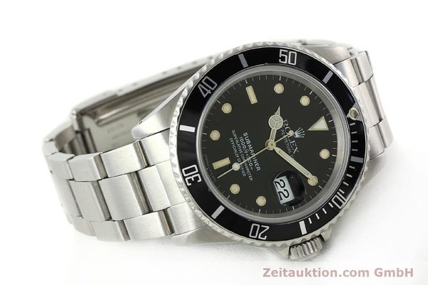Used luxury watch Rolex Submariner steel automatic Kal. 3135 Ref. 16610  | 142405 03