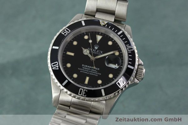 Used luxury watch Rolex Submariner steel automatic Kal. 3135 Ref. 16610  | 142405 04