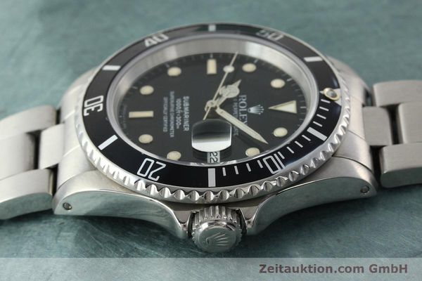Used luxury watch Rolex Submariner steel automatic Kal. 3135 Ref. 16610  | 142405 05