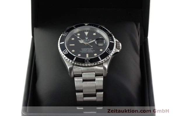 Used luxury watch Rolex Submariner steel automatic Kal. 3135 Ref. 16610  | 142405 07