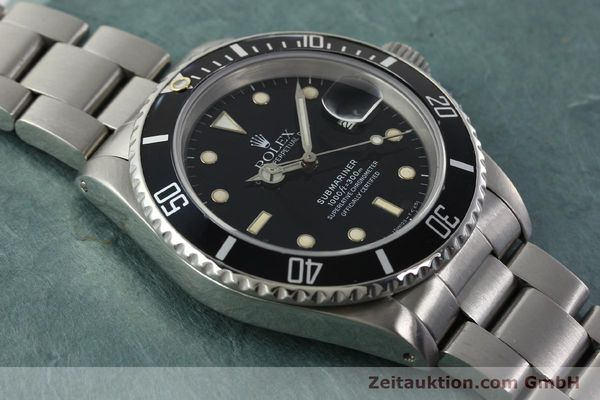 Used luxury watch Rolex Submariner steel automatic Kal. 3135 Ref. 16610  | 142405 14