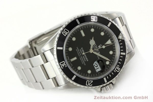 Used luxury watch Rolex Submariner steel automatic Kal. 3135 Ref. 16610  | 142406 03