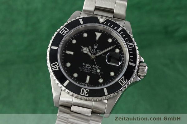 Used luxury watch Rolex Submariner steel automatic Kal. 3135 Ref. 16610  | 142406 04