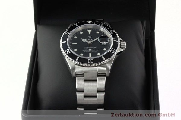 Used luxury watch Rolex Submariner steel automatic Kal. 3135 Ref. 16610  | 142406 07