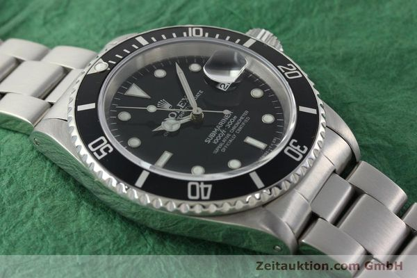 Used luxury watch Rolex Submariner steel automatic Kal. 3135 Ref. 16610  | 142406 15