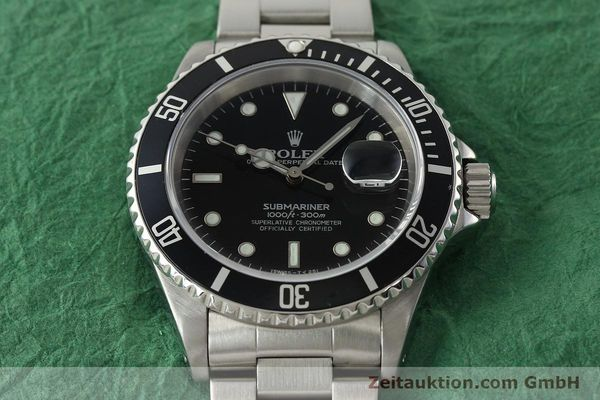 Used luxury watch Rolex Submariner steel automatic Kal. 3135 Ref. 16610  | 142406 16