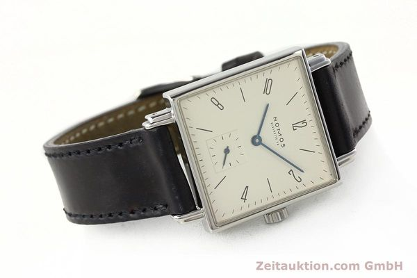 Used luxury watch Nomos Tetra steel manual winding Kal. ETA 7001  | 142408 03